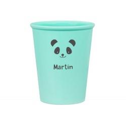 Bicchiere Personalizzato - Panda Menta