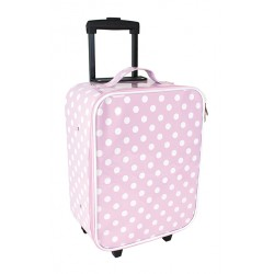 Trolley Pink a Pois