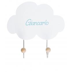 Mini Appendiabiti Nuvola Personalizzabile