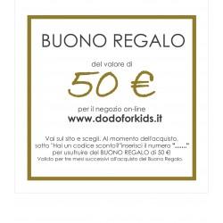 Buono Regalo del valore di 50 €