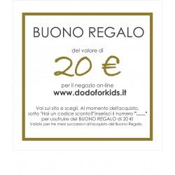 Buono Regalo del valore di 20 €