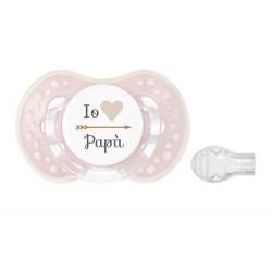 CIUCCIO Io cuore papà - Colore rosa