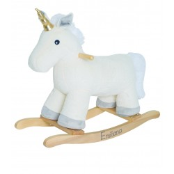 Unicorno Pelouche a dondolo Personalizzabile