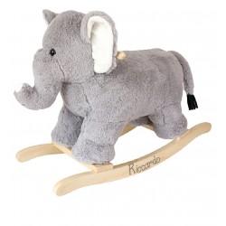 Elefante Pelouche a dondolo Personalizzabile
