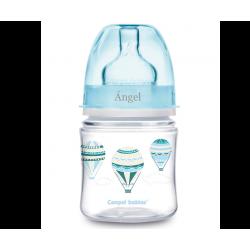 Biberon  Anti-colica - 120 ml - Personalizzato - Mongolfiere Celesti