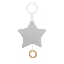 Carillon Stella Grigia Personalizzabile