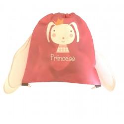 Sacca Princess Rosa Personalizzata