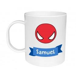 Tazza di plastica Personalizzata - Spiderman