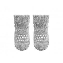 1 paio di calze anti-scivolo Alpaca - grigio chiaro