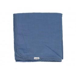 Copertina in Cotone Personalizzabile Blu