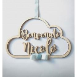 Dietro-porta Personalizzato Nuvoletta