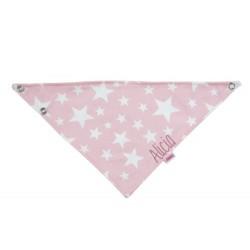 Asciuga-bavetta Personalizzata - Stelle rosa