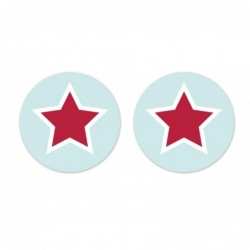 Toppe - stella rossa