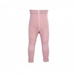 2 leggins gattoni - rosa polvere
