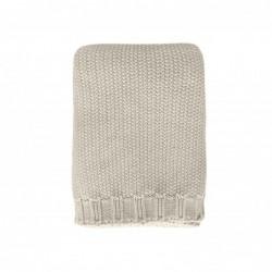Copertina tricot Personalizzabile -sabbia