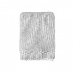 Copertina tricot Personalizzabile - grigia
