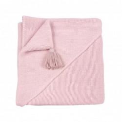Copertina Personalizzabile con cappuccio - rosa