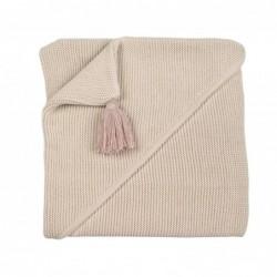 Copertina Personalizzabile con cappuccio - sabbia